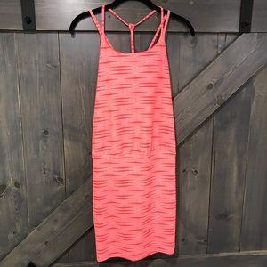 Athleta Red Orange Tank Dress XSP